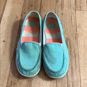 Turquoise Roxy Shoes